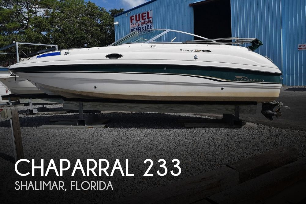 1999 Chaparral boat for sale, model of the boat is 233 Sunesta Limited Edition & Image # 1 of 40