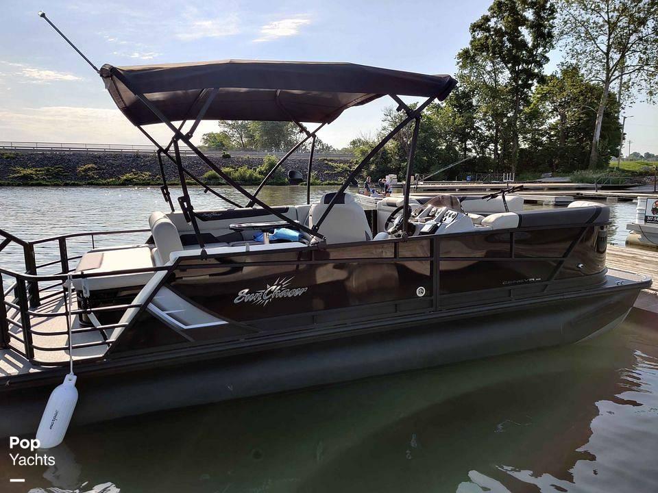 2021 SunChaser boat for sale, model of the boat is 22SB Geneva & Image # 3 of 26