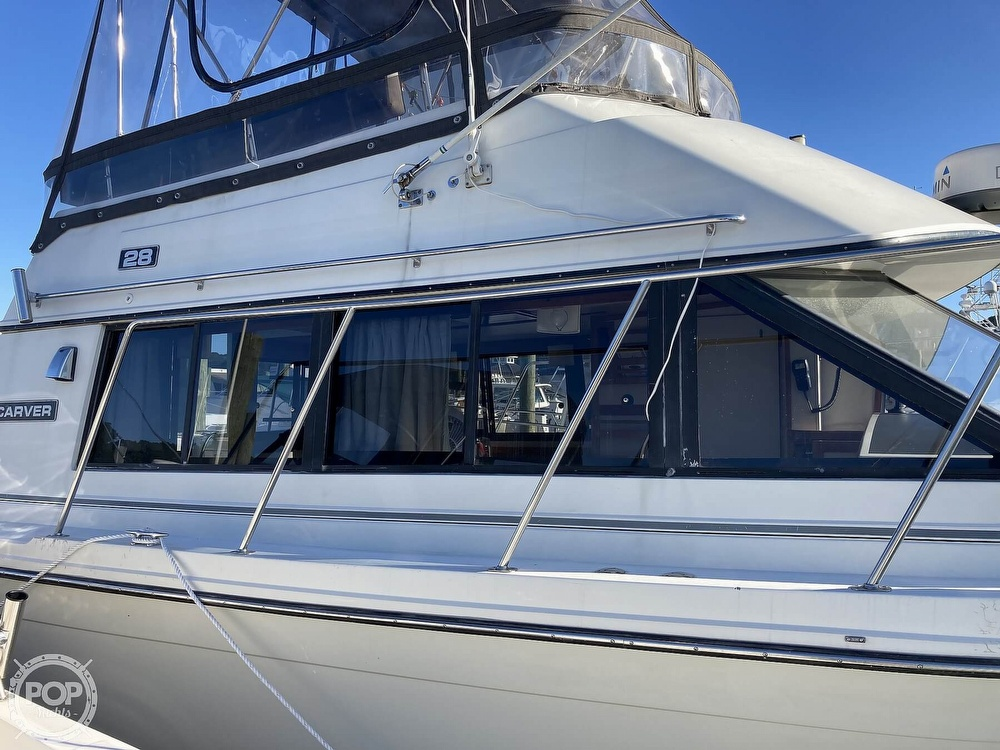 1988 Carver boat for sale, model of the boat is 2827 Mariner & Image # 9 of 40
