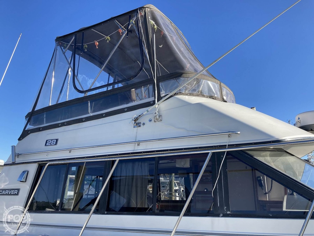 1988 Carver boat for sale, model of the boat is 2827 Mariner & Image # 10 of 40