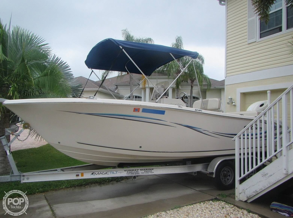 2018 Sea Chaser boat for sale, model of the boat is HFC 22 & Image # 15 of 40