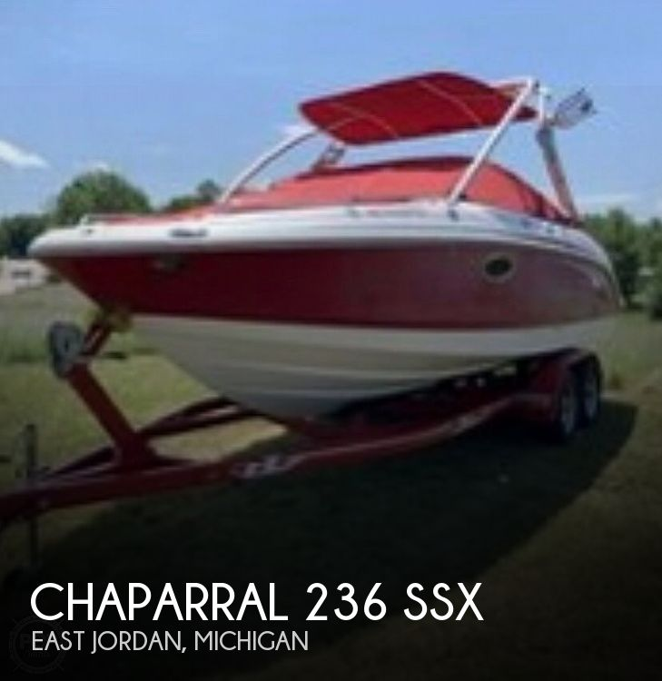 2007 Chaparral boat for sale, model of the boat is 236 SSX & Image # 1 of 1