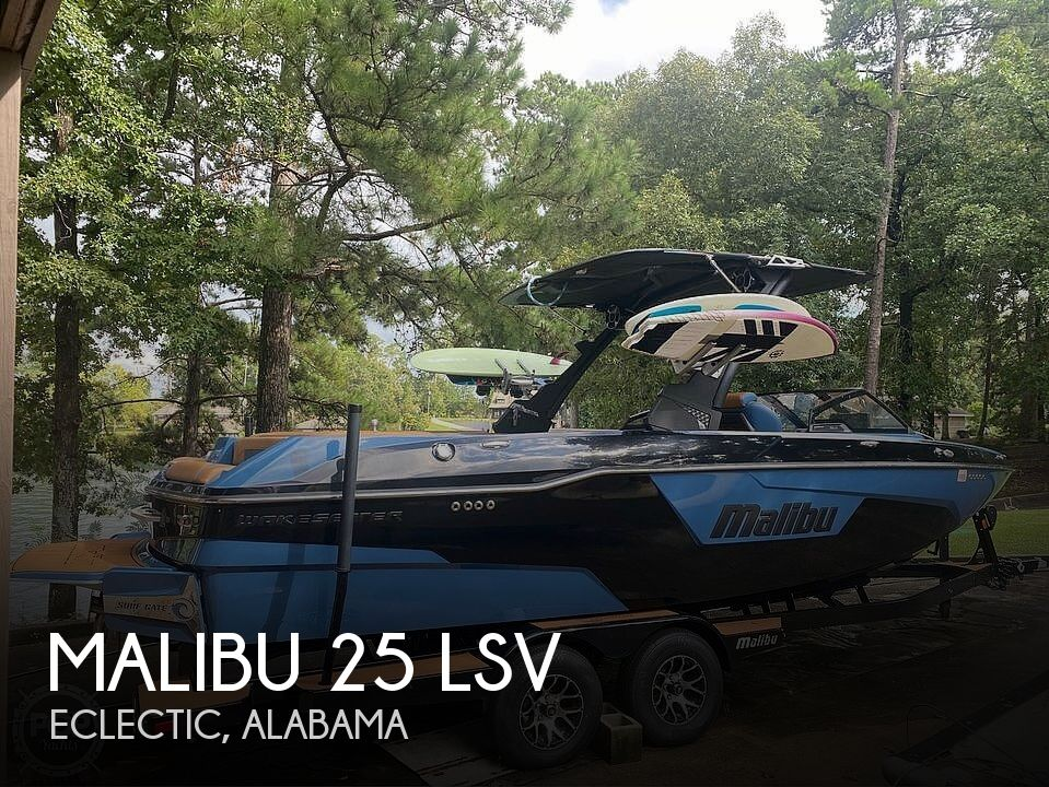 2021 Malibu boat for sale, model of the boat is 25 lsv & Image # 1 of 8