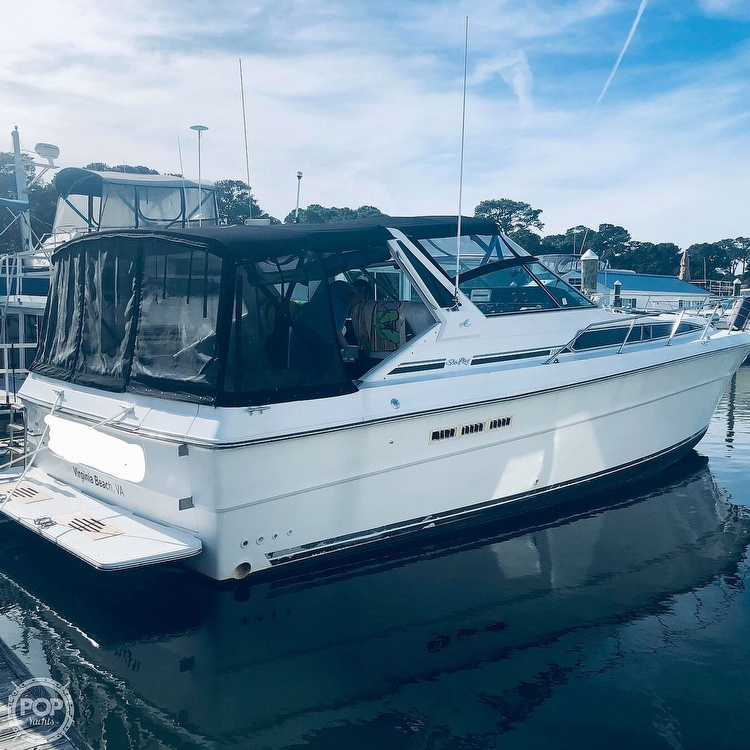 1989 Sea Ray boat for sale, model of the boat is 390 & Image # 2 of 40
