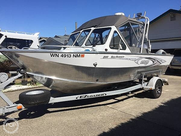 2003 Hewescraft boat for sale, model of the boat is 200 Searunner & Image # 2 of 11
