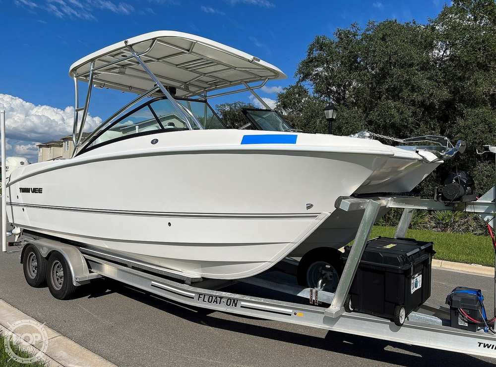 2020 Twin Vee boat for sale, model of the boat is 240 DC Go Fish Edition & Image # 14 of 40