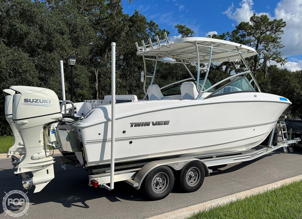 2020 Twin Vee boat for sale, model of the boat is 240 DC Go Fish Edition & Image # 16 of 40