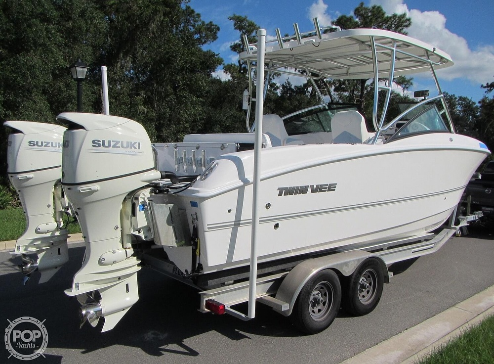 2020 Twin Vee boat for sale, model of the boat is 240 DC Go Fish Edition & Image # 17 of 40