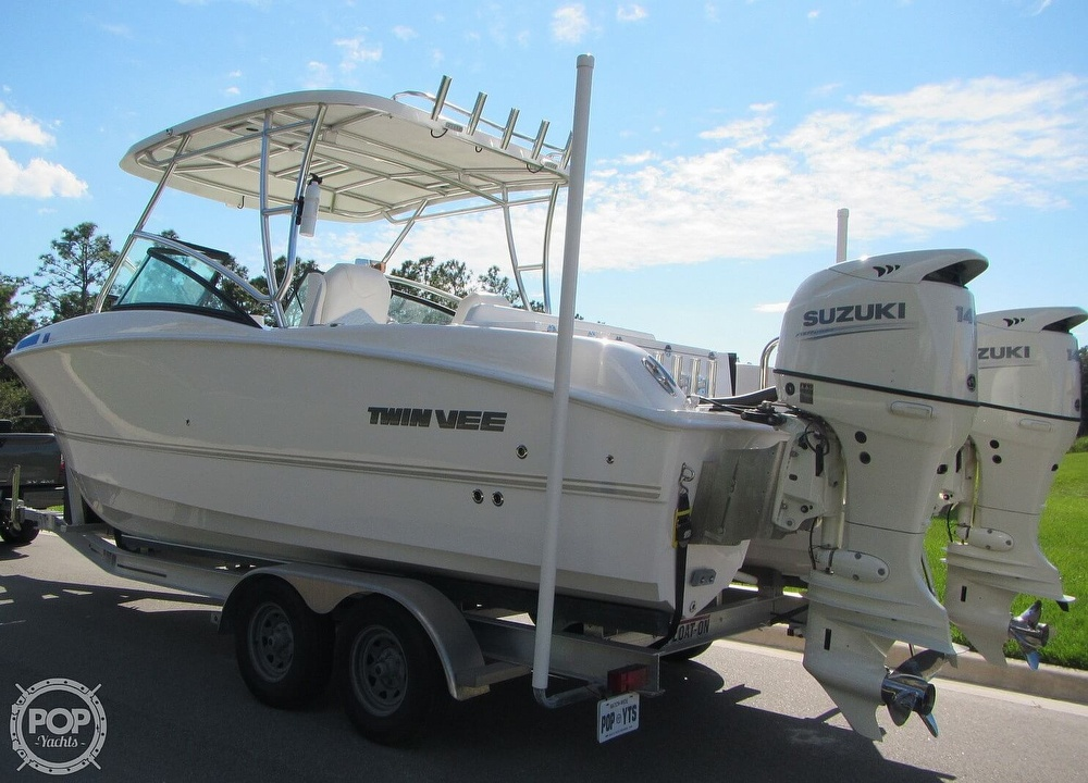 2020 Twin Vee boat for sale, model of the boat is 240 DC Go Fish Edition & Image # 19 of 40