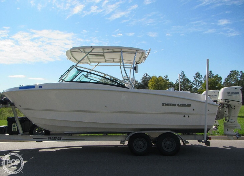 2020 Twin Vee boat for sale, model of the boat is 240 DC Go Fish Edition & Image # 20 of 40