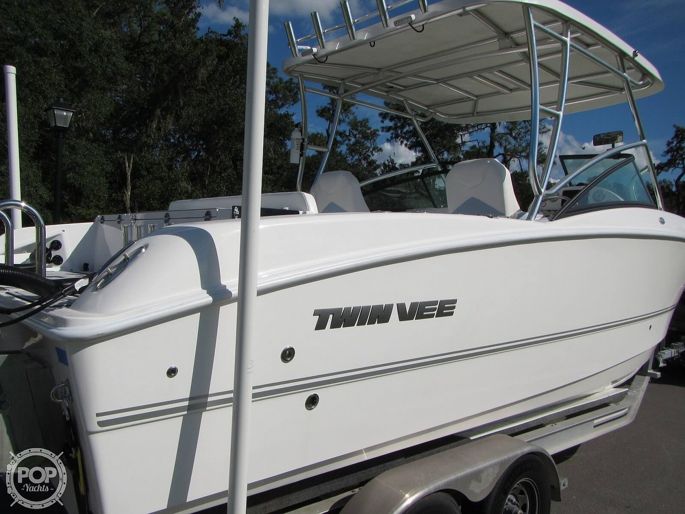 2020 Twin Vee boat for sale, model of the boat is 240 DC Go Fish Edition & Image # 27 of 40