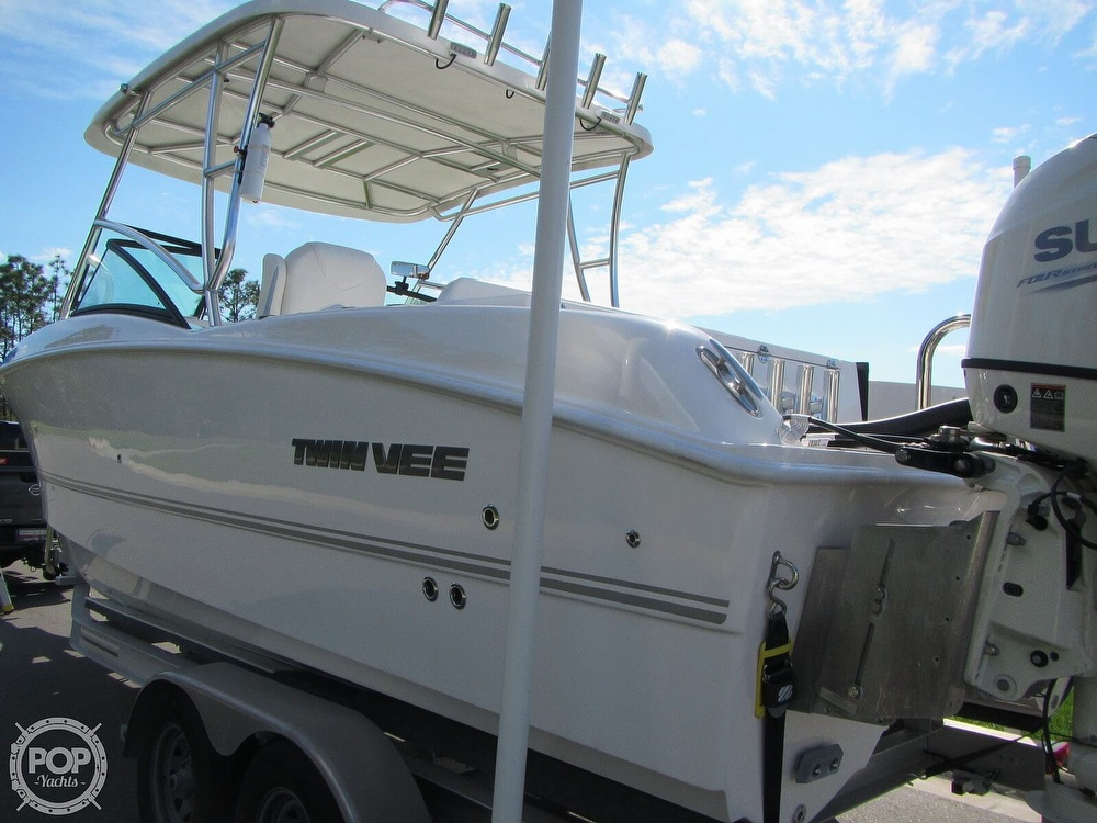 2020 Twin Vee boat for sale, model of the boat is 240 DC Go Fish Edition & Image # 30 of 40
