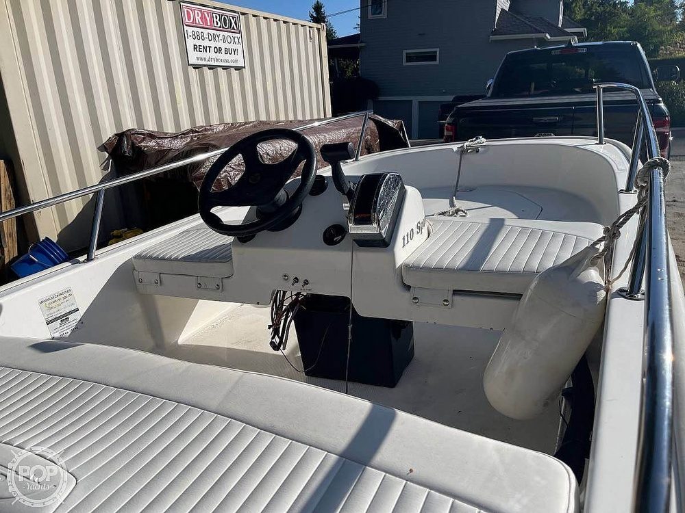 2008 Boston Whaler boat for sale, model of the boat is 110 sport & Image # 3 of 31
