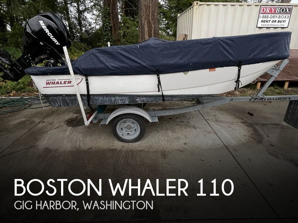 2008 Boston Whaler boat for sale, model of the boat is 110 sport & Image # 1 of 31