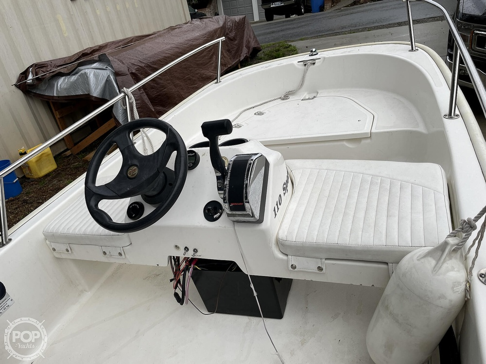 2008 Boston Whaler boat for sale, model of the boat is 110 sport & Image # 4 of 31
