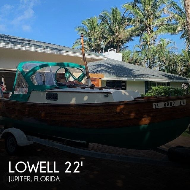 1992 Lowell boat for sale, model of the boat is Amesbury Skiff & Image # 1 of 25