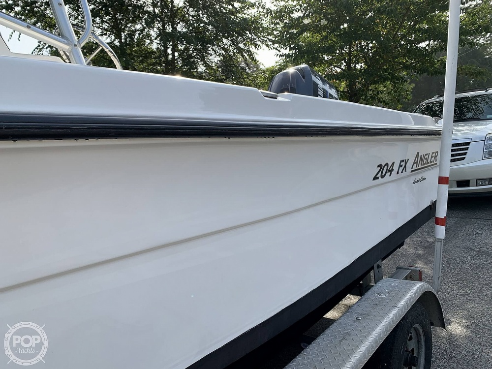 2006 American Angler boat for sale, model of the boat is 204 FX & Image # 11 of 40