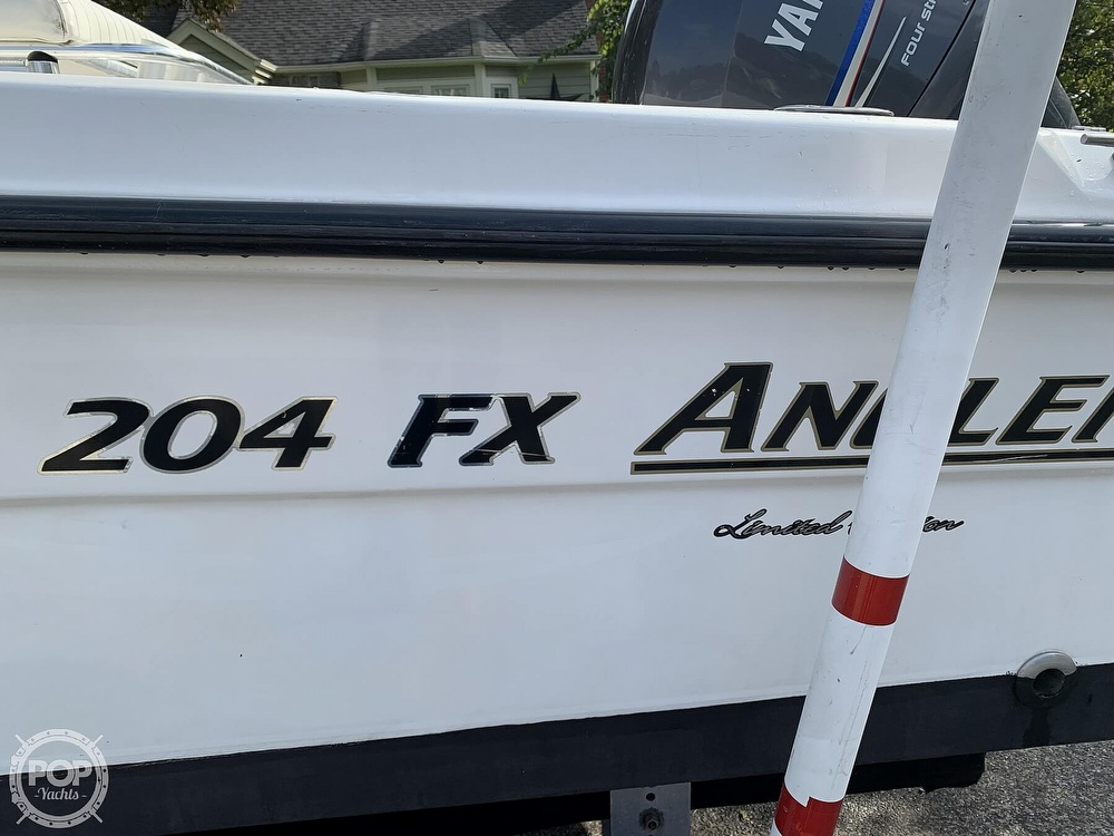2006 American Angler boat for sale, model of the boat is 204 FX & Image # 13 of 40
