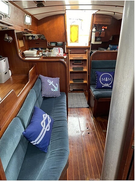 1982 Tartan boat for sale, model of the boat is T37 & Image # 4 of 13