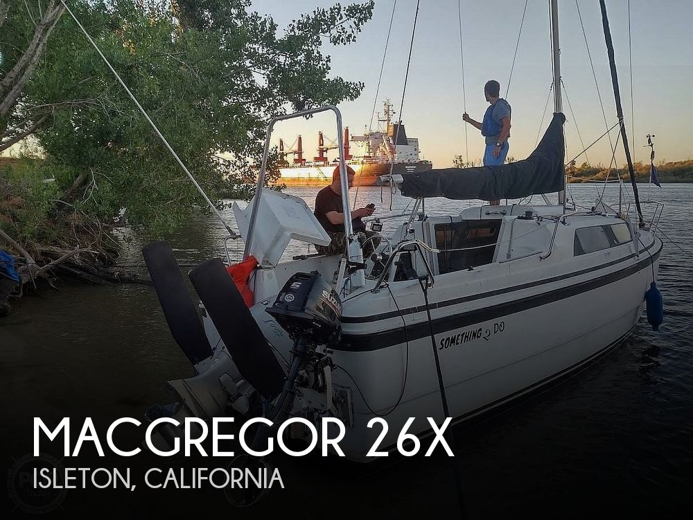 1998 Macgregor boat for sale, model of the boat is 26X & Image # 1 of 11