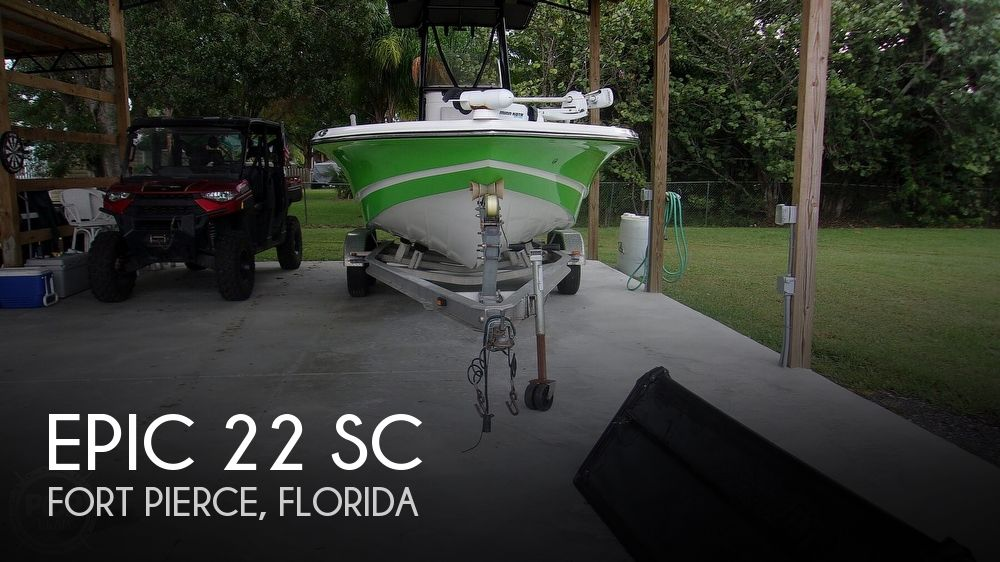 2014 Epic boat for sale, model of the boat is 22 SC & Image # 1 of 40