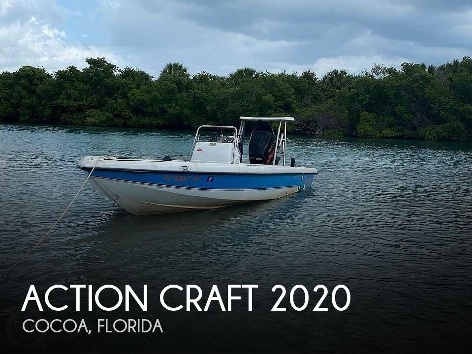 1994 Action Craft boat for sale, model of the boat is 2020 Flatsmaster Se & Image # 1 of 9
