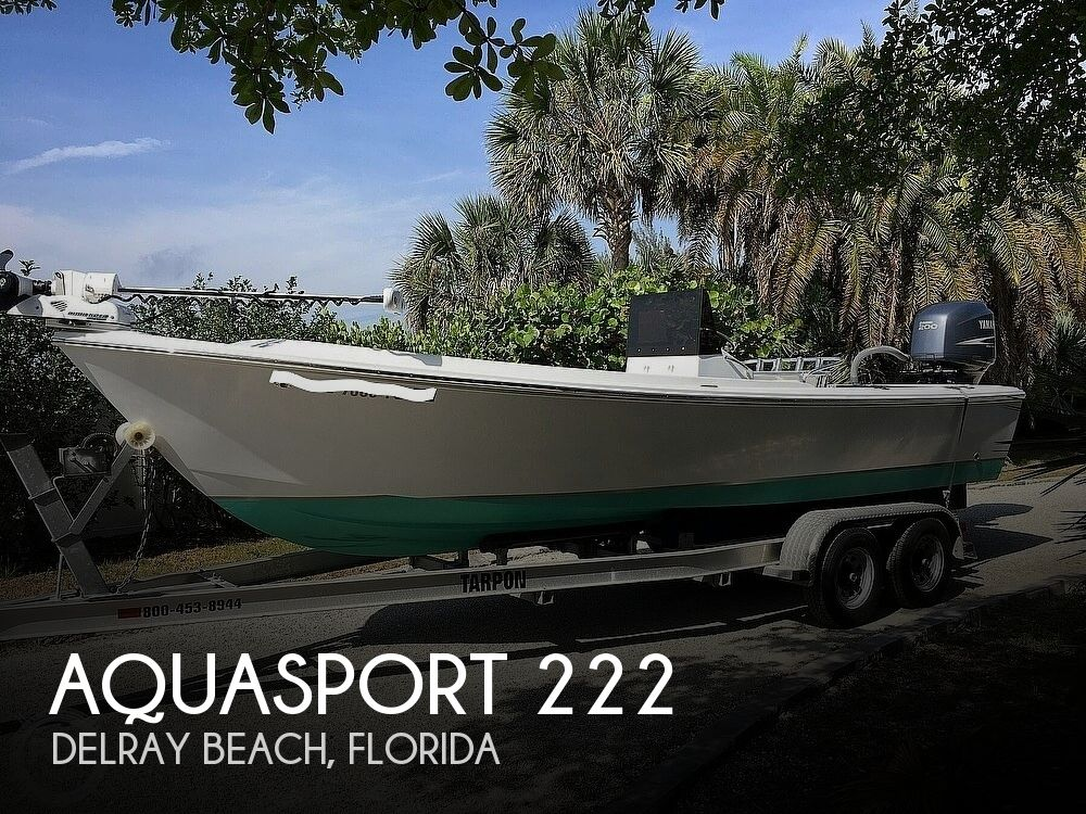 1987 Aquasport boat for sale, model of the boat is 222 & Image # 1 of 40