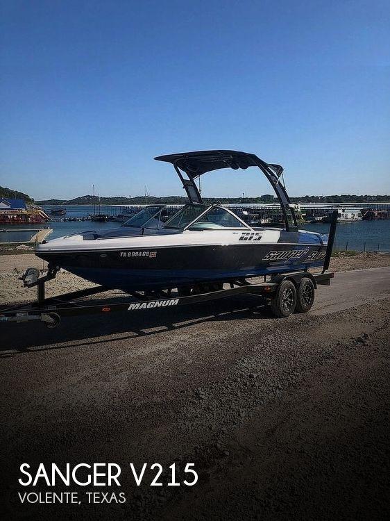 2014 Sanger boat for sale, model of the boat is V215 & Image # 1 of 4