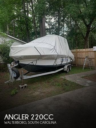 1993 American Angler boat for sale, model of the boat is 220CC & Image # 1 of 40