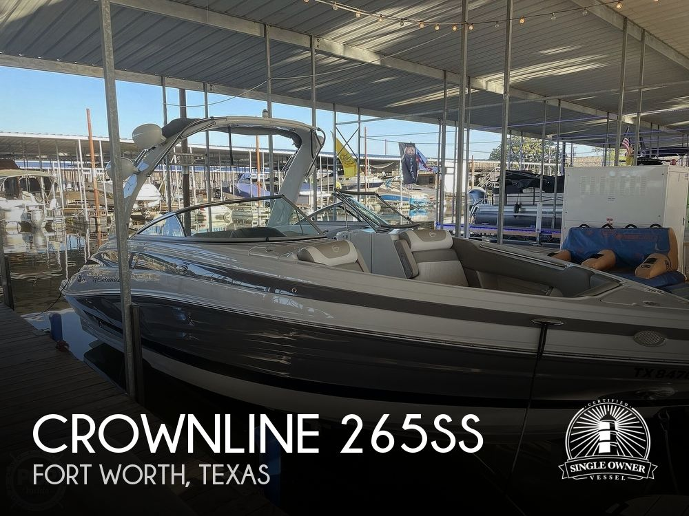 2019 Crownline boat for sale, model of the boat is 265SS & Image # 1 of 40