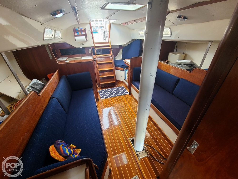 1976 C & C boat for sale, model of the boat is 38 & Image # 4 of 40