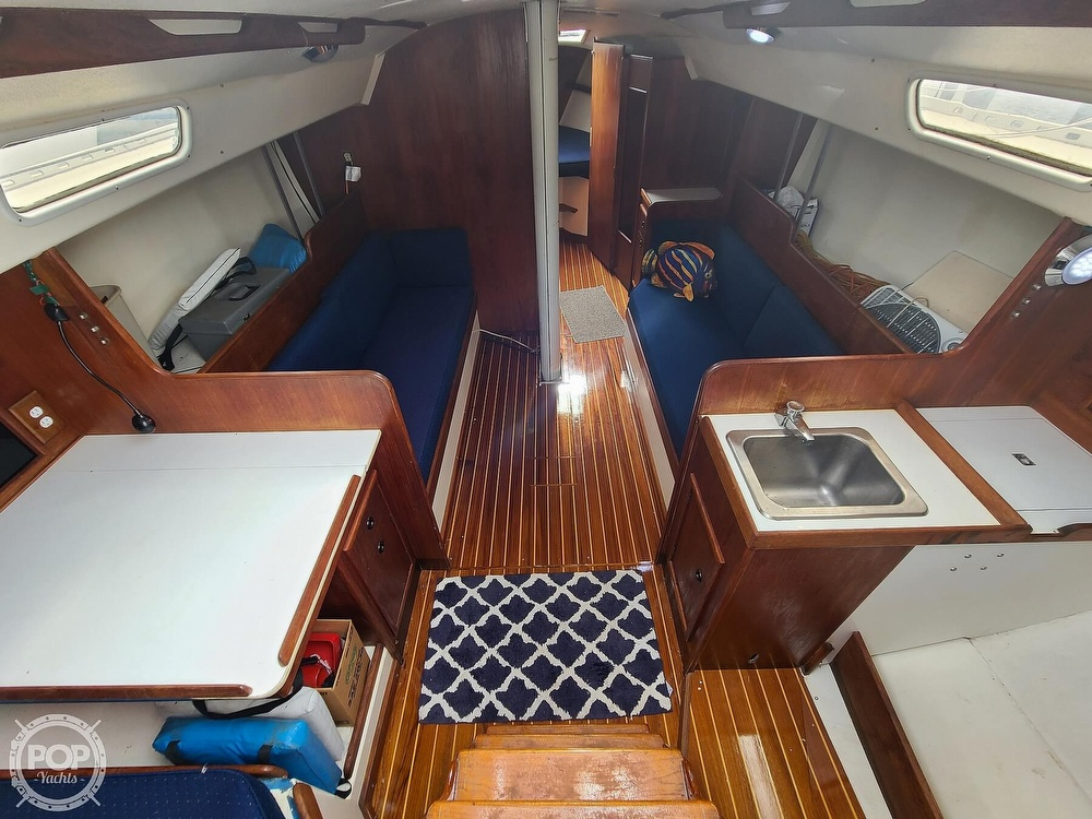 1976 C & C boat for sale, model of the boat is 38 & Image # 3 of 40