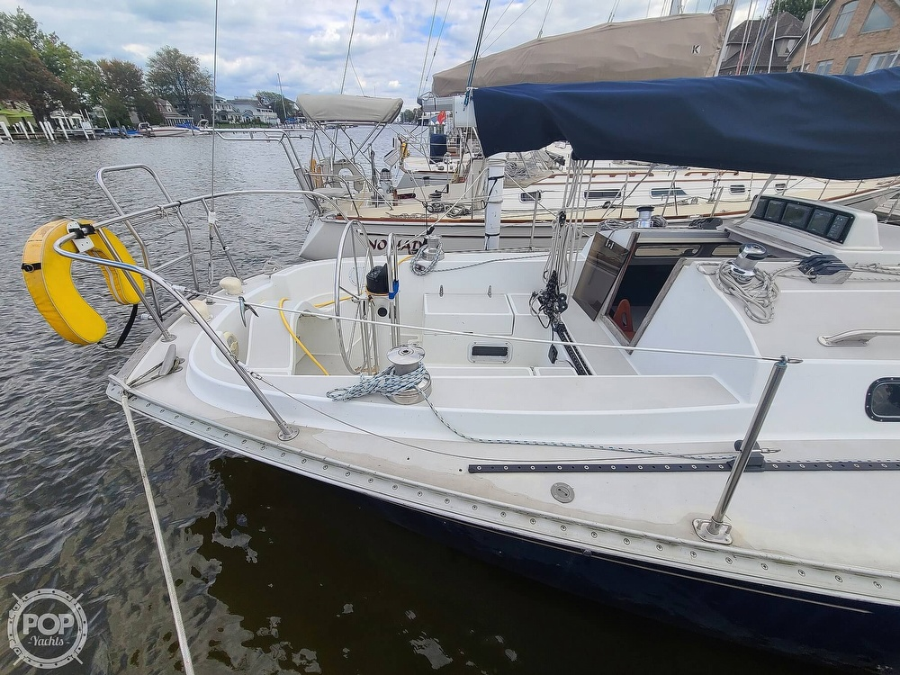 1976 C & C boat for sale, model of the boat is 38 & Image # 13 of 40