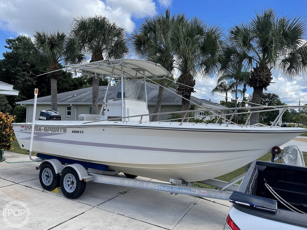 1988 Hydra-Sports boat for sale, model of the boat is 2200 CC & Image # 5 of 40