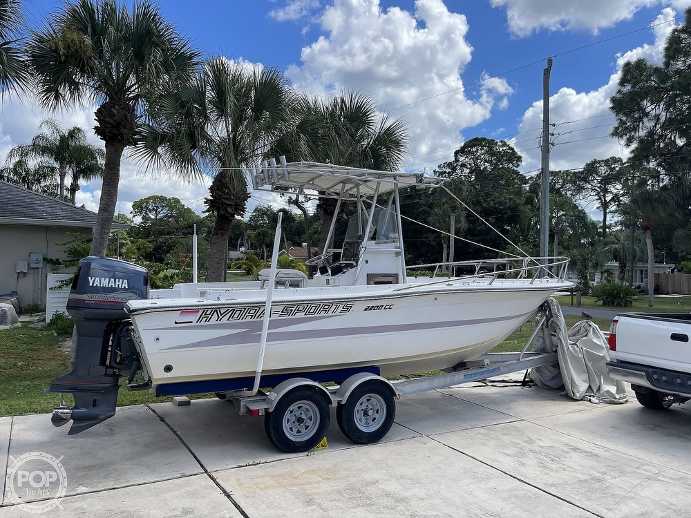 1988 Hydra-Sports boat for sale, model of the boat is 2200 CC & Image # 6 of 40