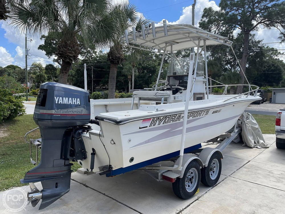 1988 Hydra-Sports boat for sale, model of the boat is 2200 CC & Image # 3 of 40