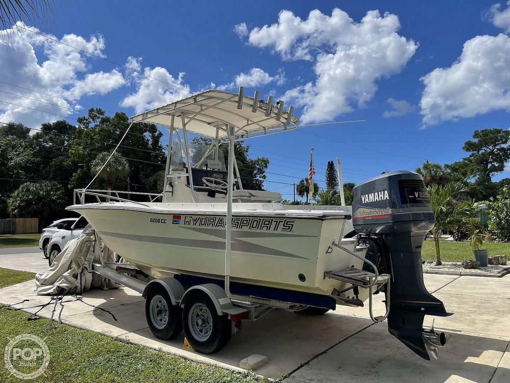 1988 Hydra-Sports boat for sale, model of the boat is 2200 CC & Image # 2 of 40