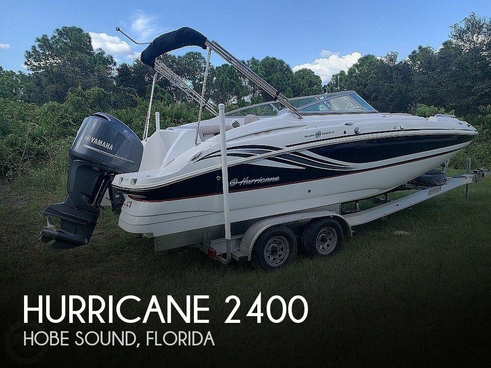 2014 Hurricane Sundeck 2400