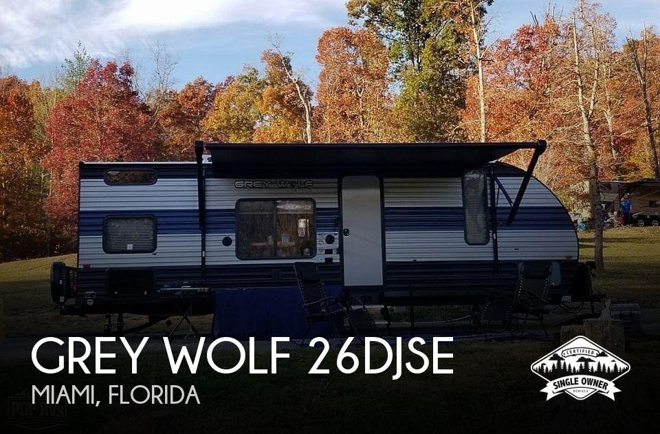 2021 Forest River Grey Wolf 26DJSE