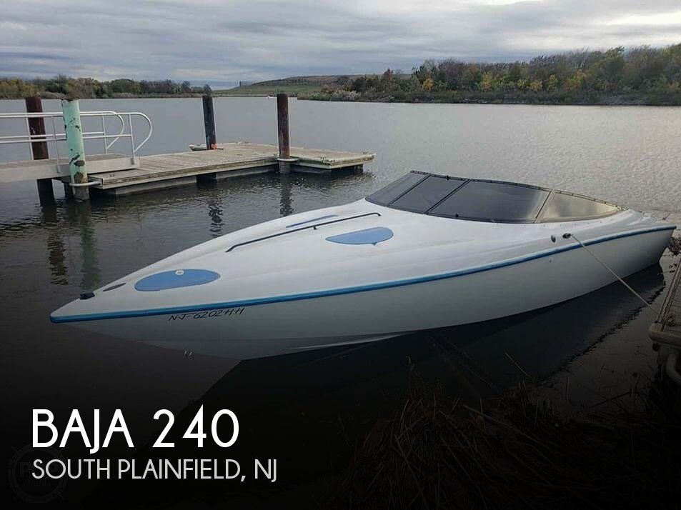 1995 Baja boat for sale, model of the boat is 240 & Image # 1 of 12