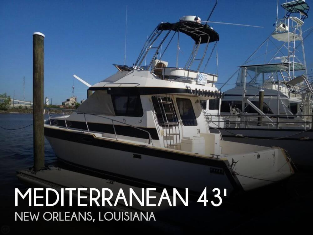 1987 Mediterranean 38 Sportfish - Photo #1