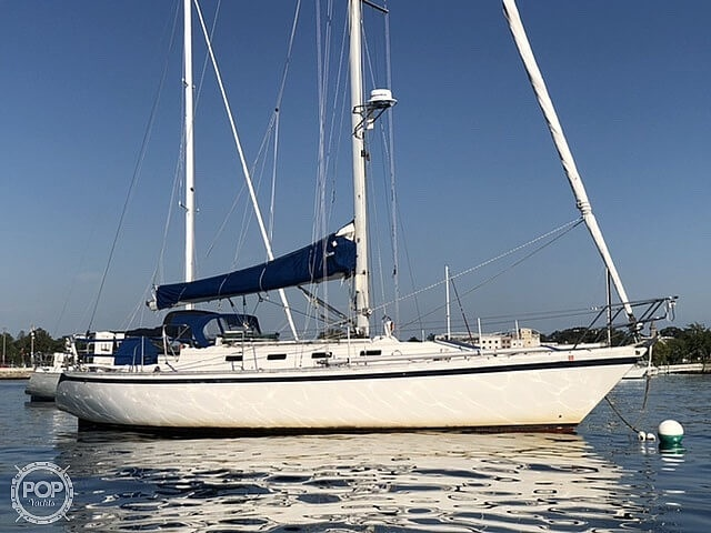 1984 Canadian Sailcraft boat for sale, model of the boat is 36 & Image # 12 of 40