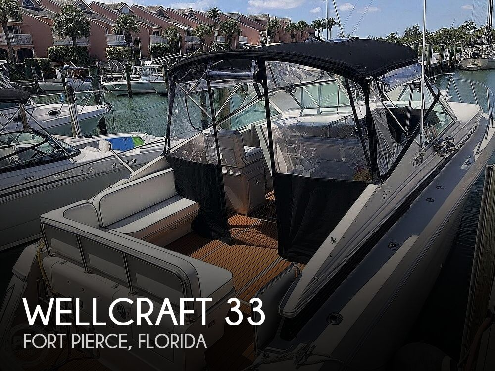1991 Wellcraft boat for sale, model of the boat is 33 ST. TROPEZ & Image # 1 of 40
