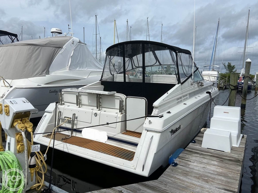 1991 Wellcraft boat for sale, model of the boat is 33 ST. TROPEZ & Image # 13 of 40