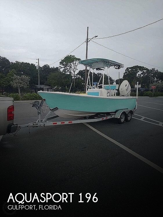1974 Aquasport boat for sale, model of the boat is 196 & Image # 1 of 40