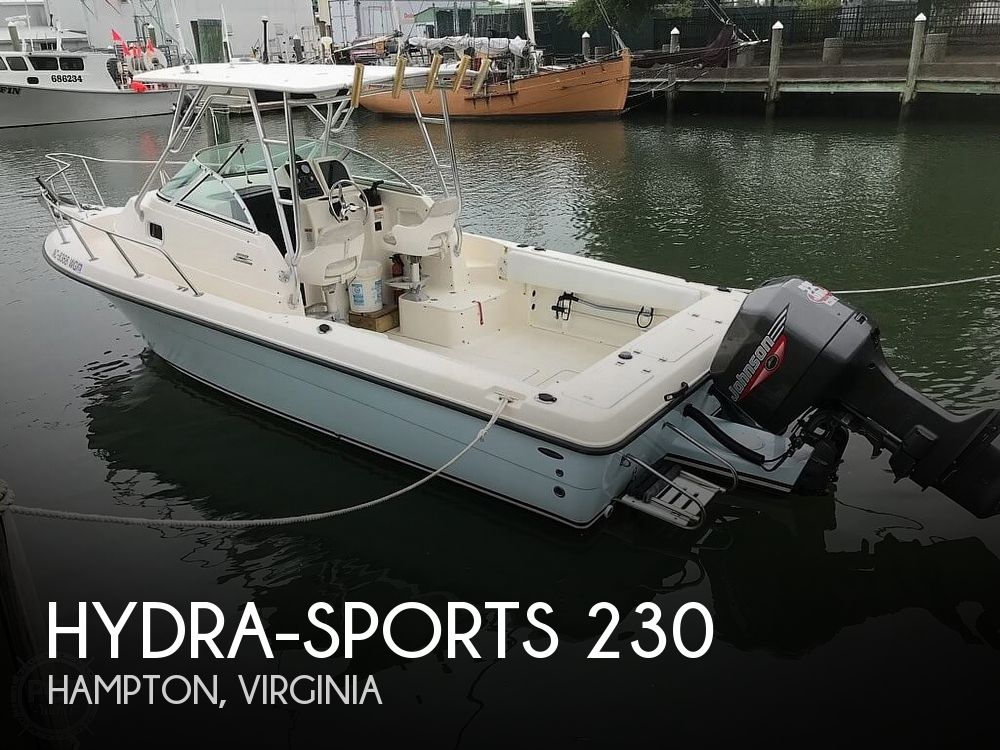 1999 Hydra-Sports boat for sale, model of the boat is 230 Seahorse & Image # 1 of 12