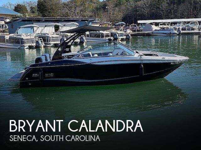 Used Bryant Boats For Sale by owner   2016 23 foot Bryant Calandra