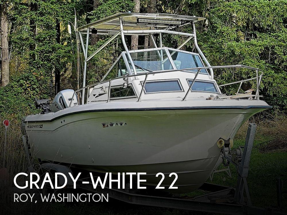 1984 Grady-White 22 seafarer