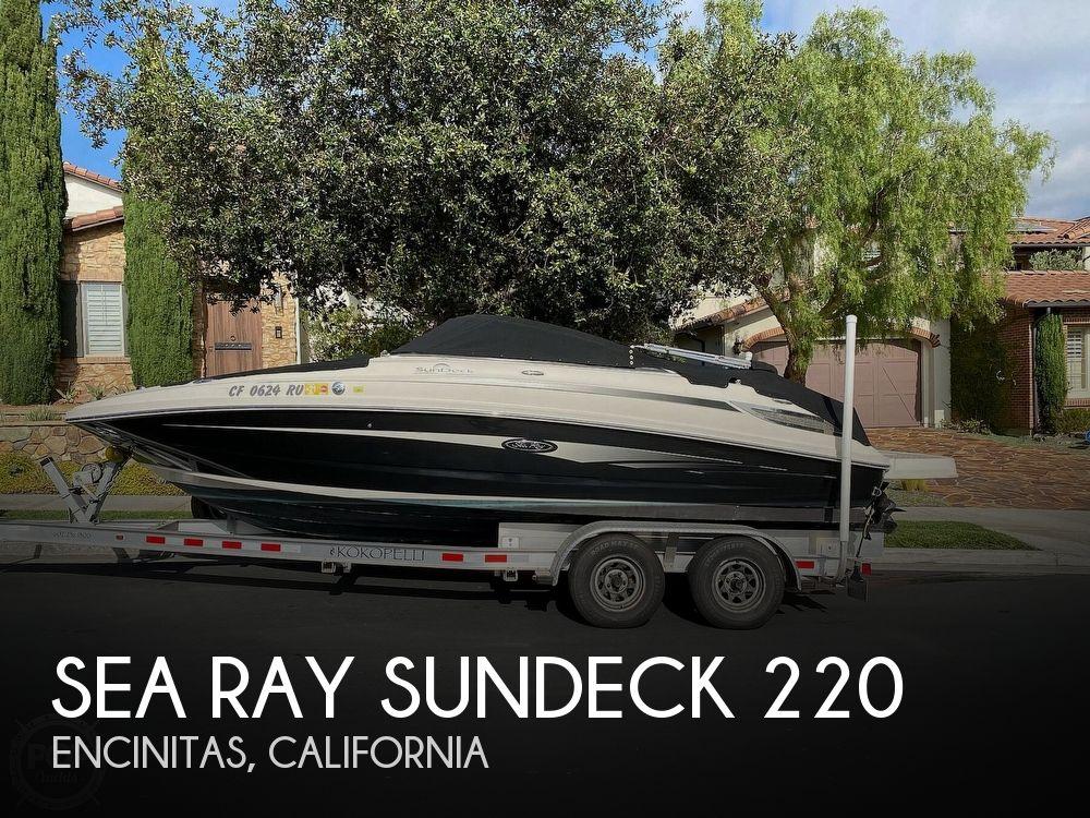 2010 SEA RAY SUNDECK 220 for sale