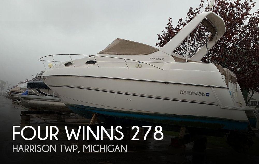 1996 Four Winns Vista 278